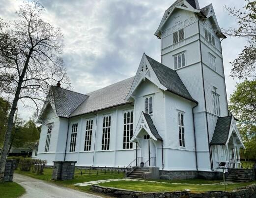 Stangvik-kyrkja klar for ny felles pinsegudsteneste.