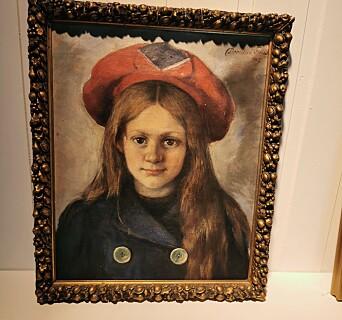 Med måleriet Lille Ildrid vart Dorothea Follestad anteke på Høstutstillingen i 1907