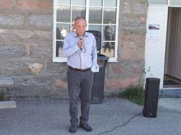 Torbjørn Brøske fortalde om kyrkjehistorie i Stangvik