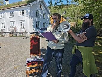 Harald Kvande fortel om Elvegarden