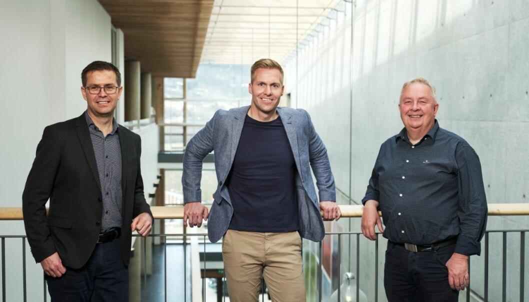 Daglig leder Jakob Nørbech, salgsleder David Monkan, markedssjef Stig Sæter