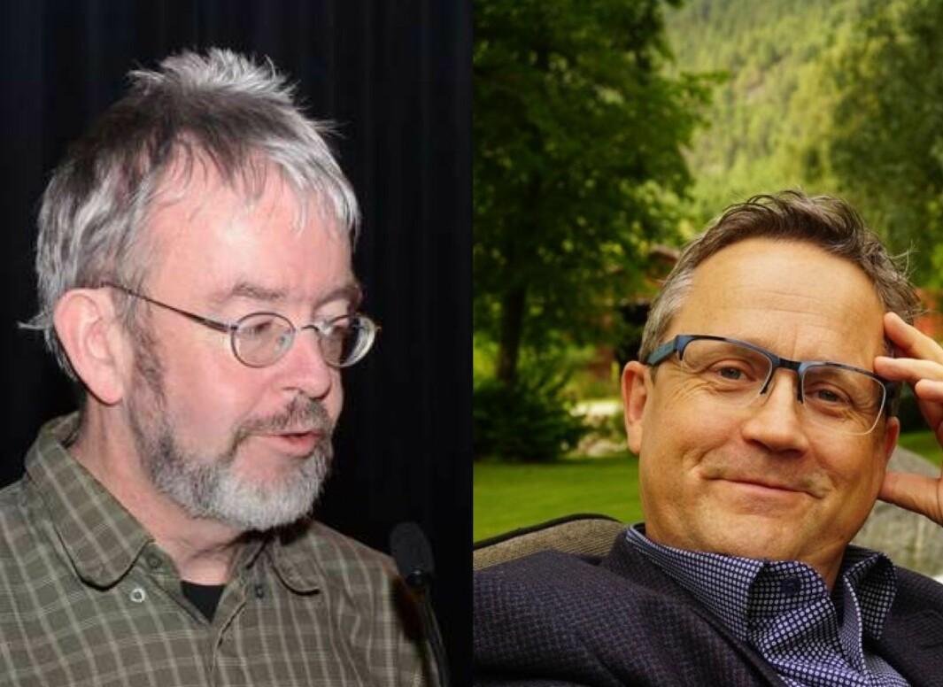 Tor Erik Jenstad (t.v.) og Erling With Aasgård.