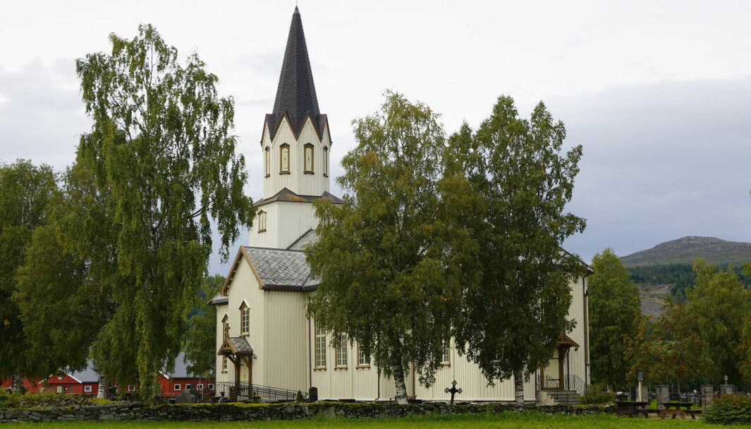 Rindal kirke.