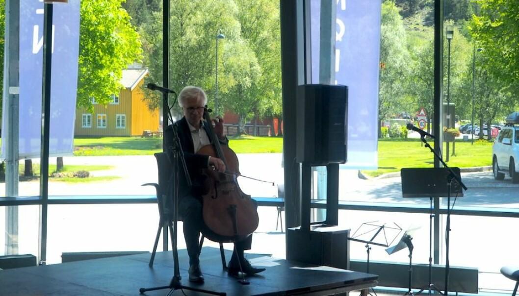 Øyvind Gimse på cello