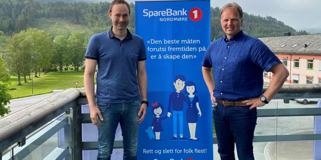 Jostein Kvendset og Allan Troelsen.