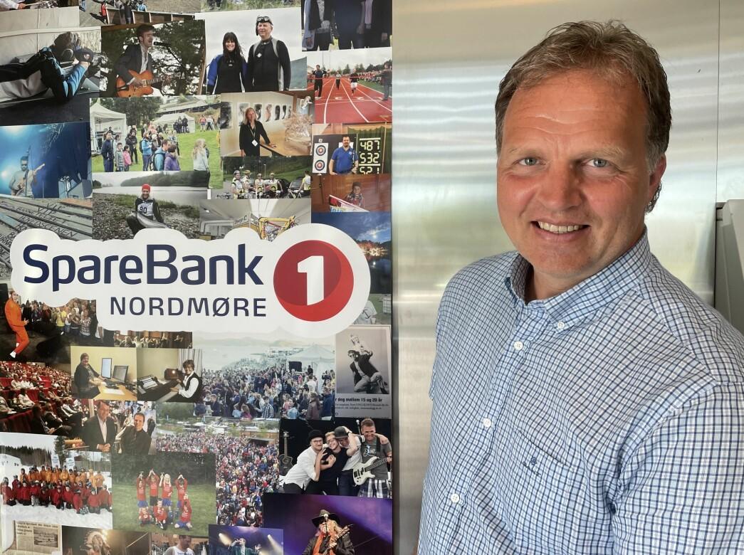 Allan Troelsen, administrerende bankdirektør i SpareBank 1 Nordmøre.