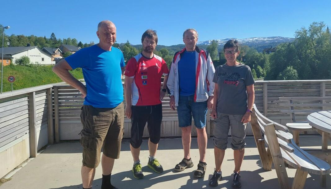 Ole Solvik, Rune Løfald, Baard Gåsvand og Aud Lillegård.