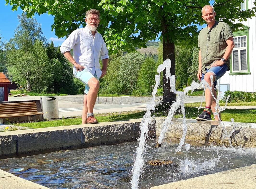 Tom Godtland, Rindal Næringsforum og Morten Møller, Rindal kommune ønsker deg velkommen til Kulturvøkku 2021!