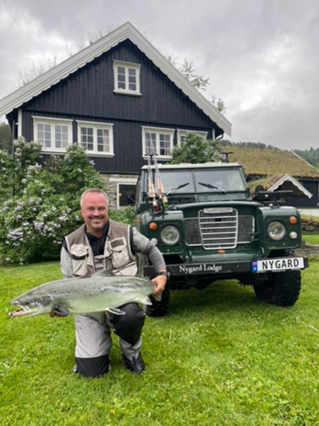 Frode Moen, 13,4 kg