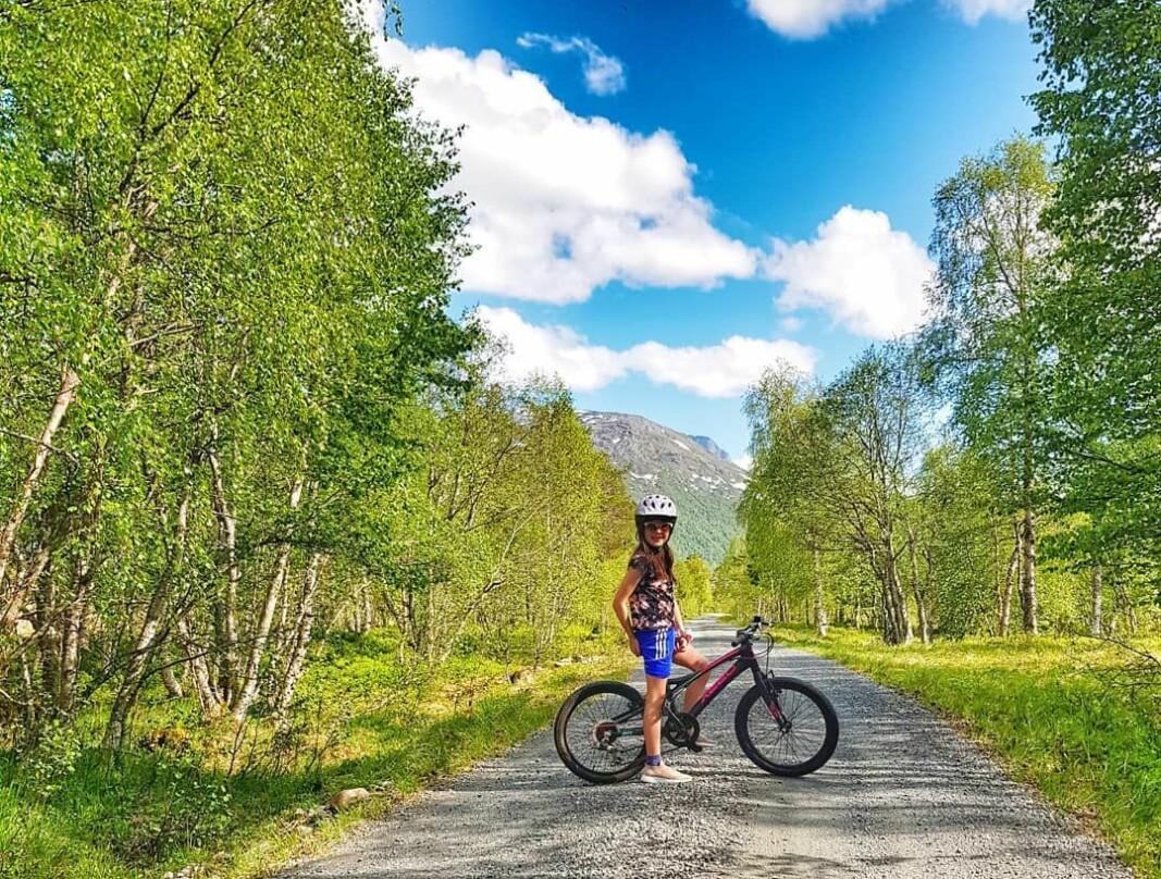 Sykkeltur til Breiskarsbekkjen i Vindøldalen.