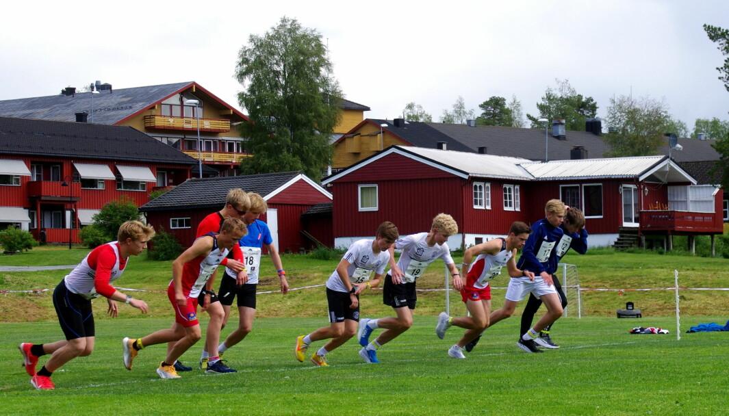 Startfelt for 3 km under Trollheimsløpet 2021