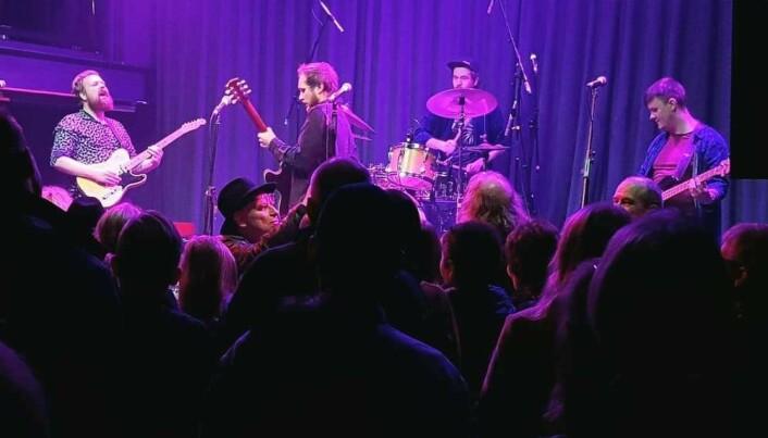 Fra konsert i London november 2019