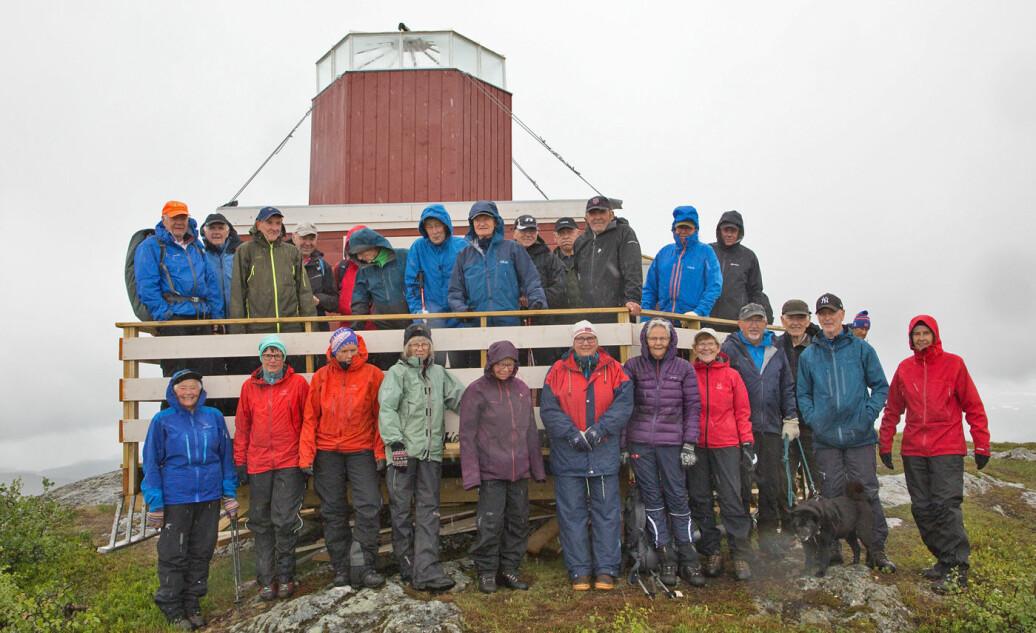 29 deltakere på denne Tirsdagstur´n. Tur nr 155! Begynte i 2013.