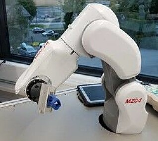 For eksempel slik kan en industrirobot se ut.