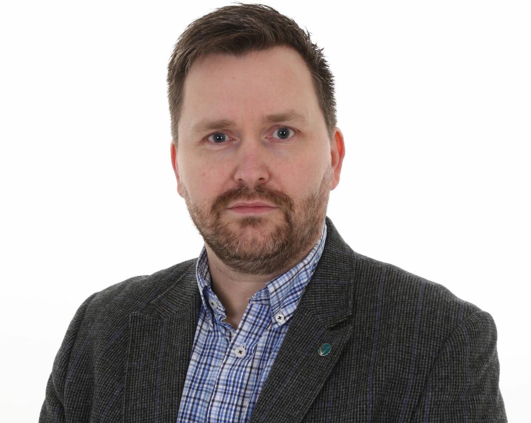 Frode Heimen, 3.kandidat Stortingsvalget Møre og Romsdal Venstre.