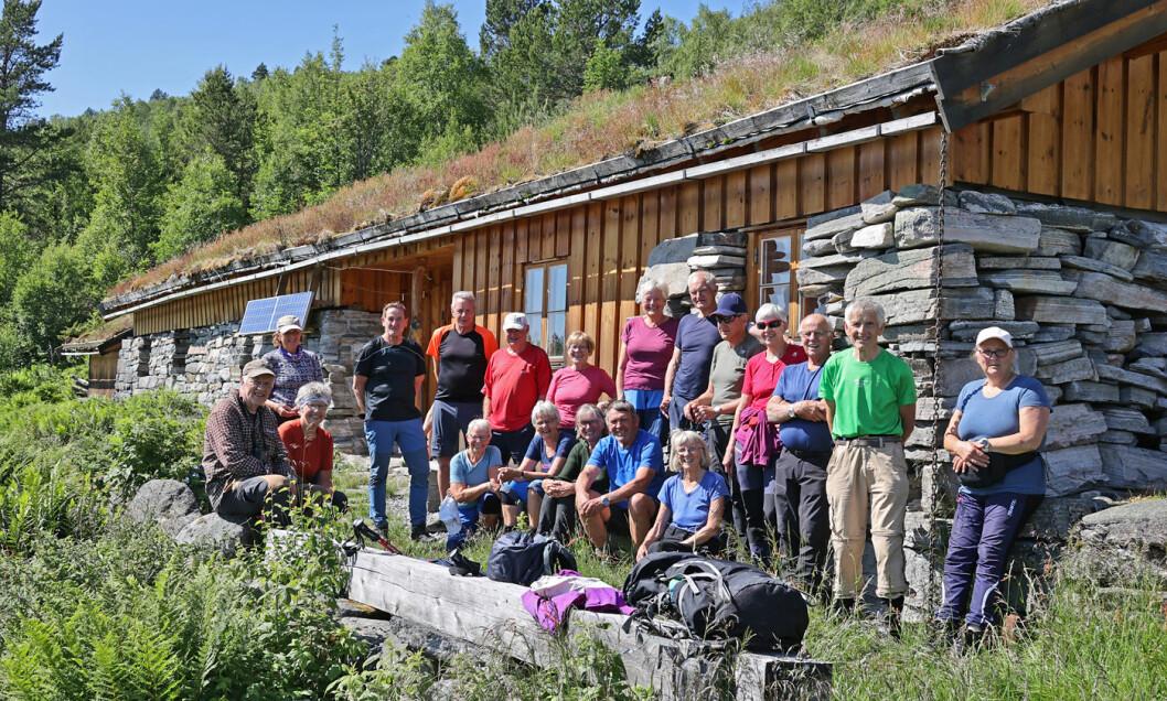 24 turgåere fikk en turdag med finvær og mange nye opplevelser.