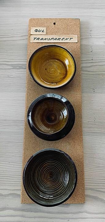 Keramikk utført av Håvard Orset