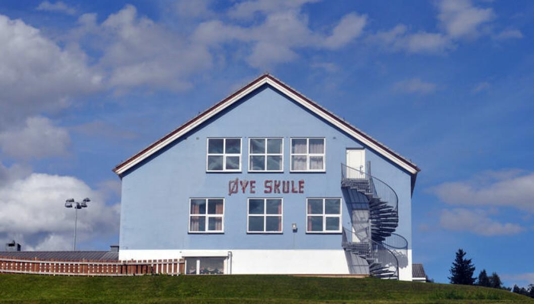 Blåbygget på Øye skule er snart historie