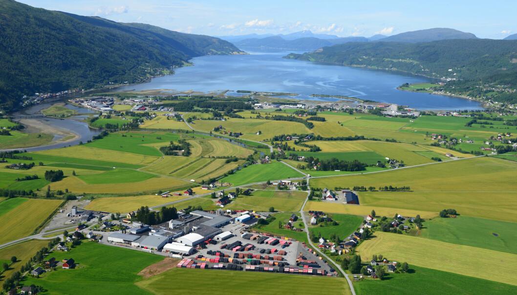 Pipelife Norges fabrikk i Surnadal.