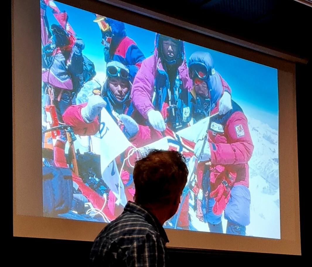 17. mai på Mt. Everest