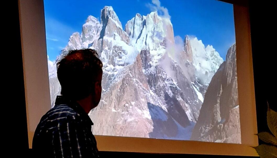 På fjelltur med fjellklatraren Olav Storli Ulvund