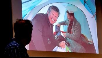 Dei var ofte meir enn to i telta dei hadde på turen.