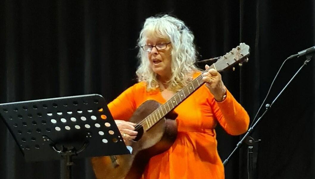 Laila Børset framførte Idas sommarvisa.