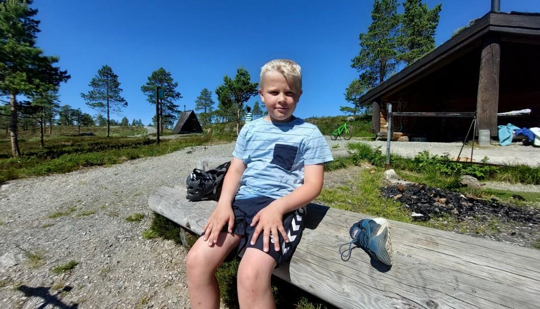 Isak blir gjerne med på sommercamp neste år også.