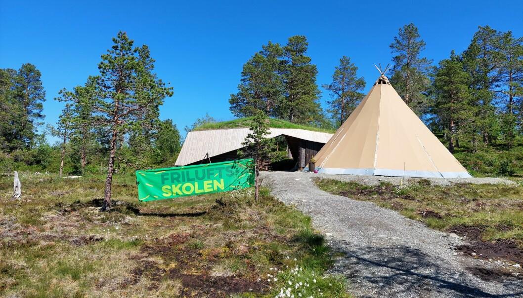 Trollheimstunet er basen til Friluftsskolens sommercamp iTrollheimen.