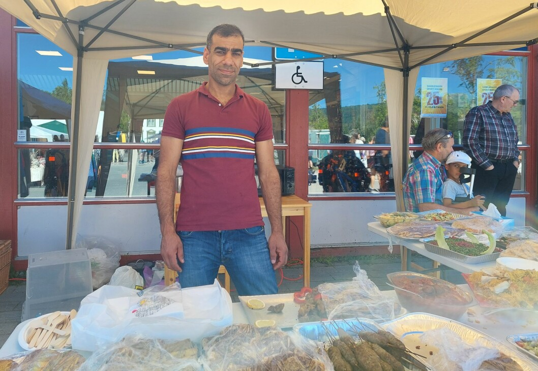 Fouad Almousa solgte syriske retter.