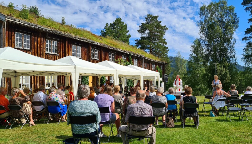 Tunmesse på Rindal Skimuseum.