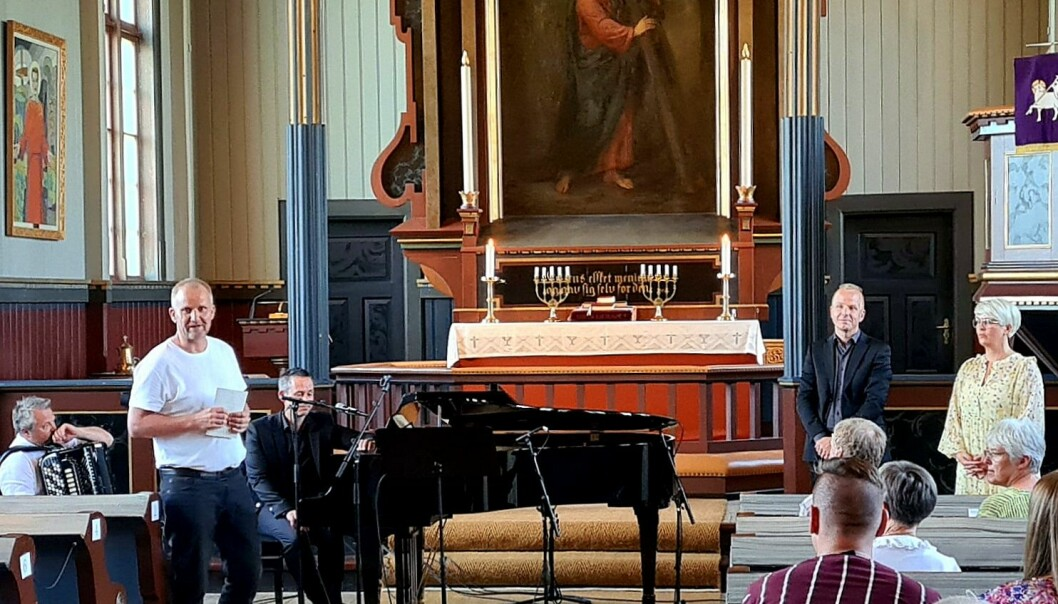 Etter ståande applaus frå publikum, kunne kultuledar Morten Møller takke musikarane for ein framifrå konsert.