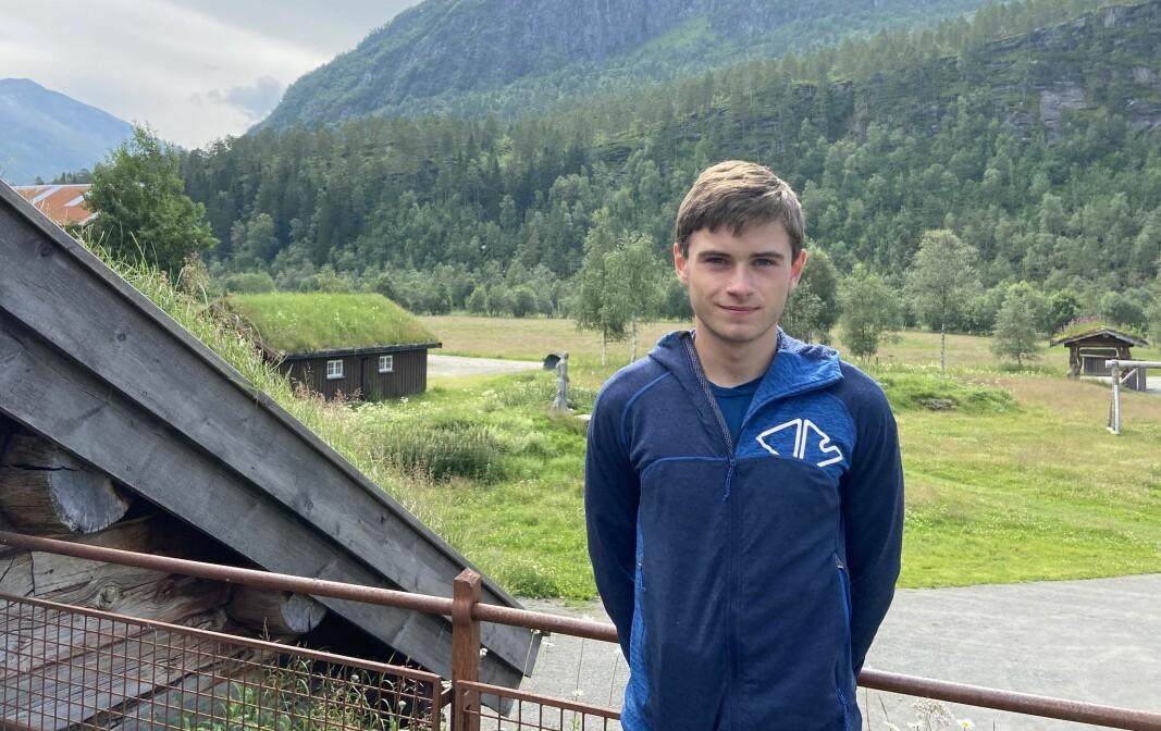 Erik Kårvatn, her utenfor butikken Kårvatn Fjellutstyr