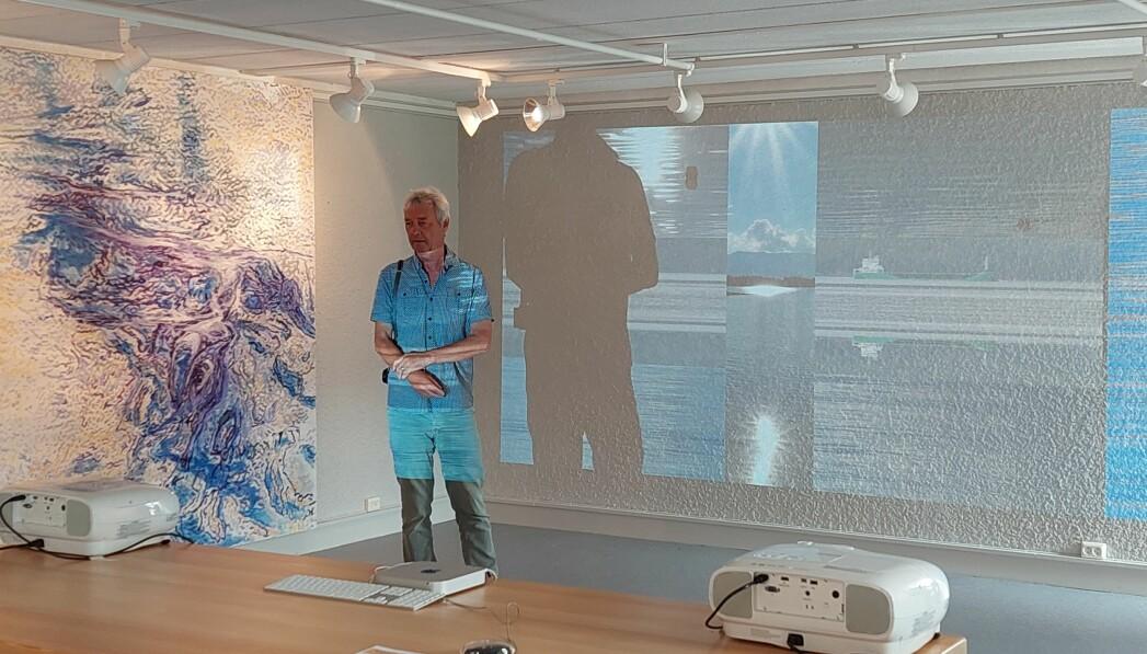 Jeremy Welsh fortalte om samarbeidet med Jon Arne Mogstad