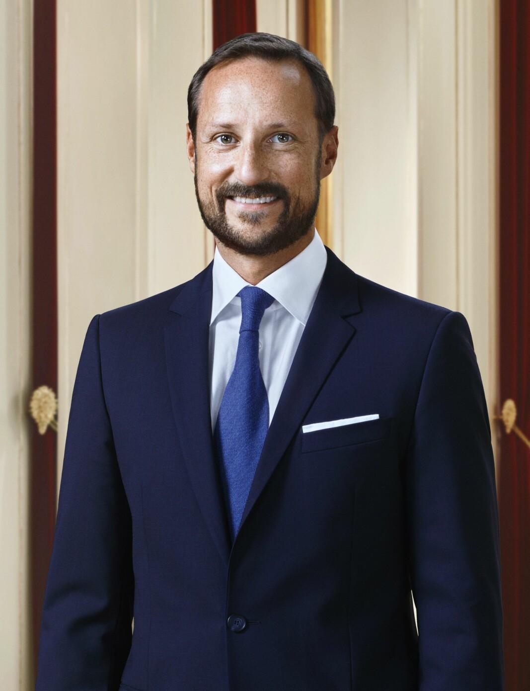 HKH Kronprins Haakon.