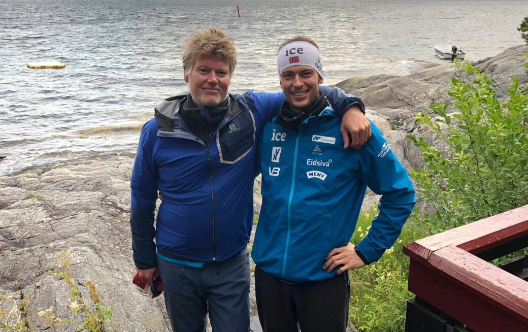 Pappa Tor Lægreid er en viktig støttespiller for Sturla