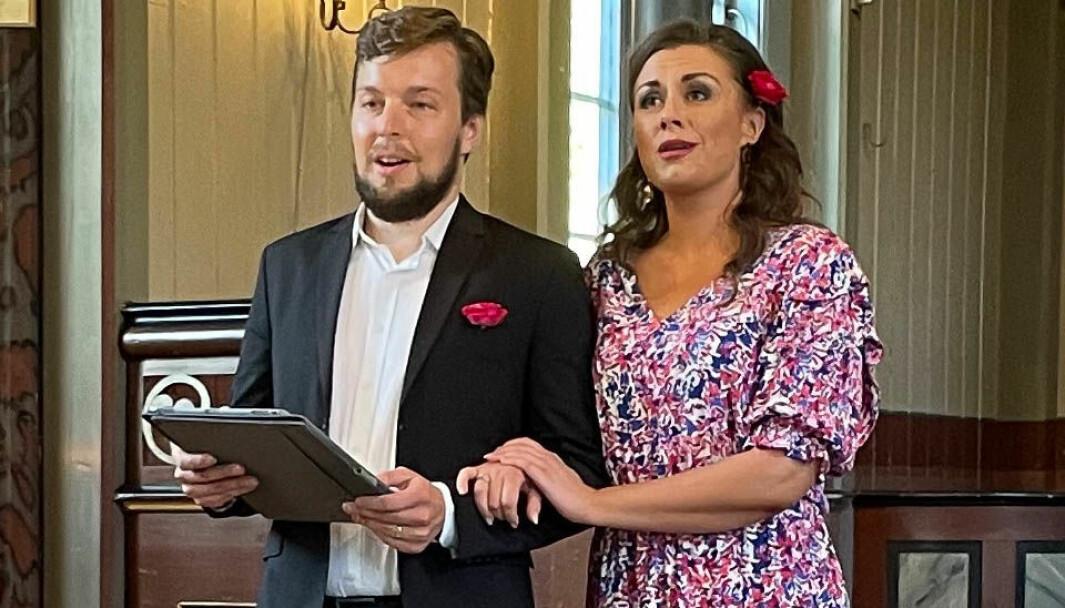 Solveig Vetleseter Bøe og Erik Rosenius