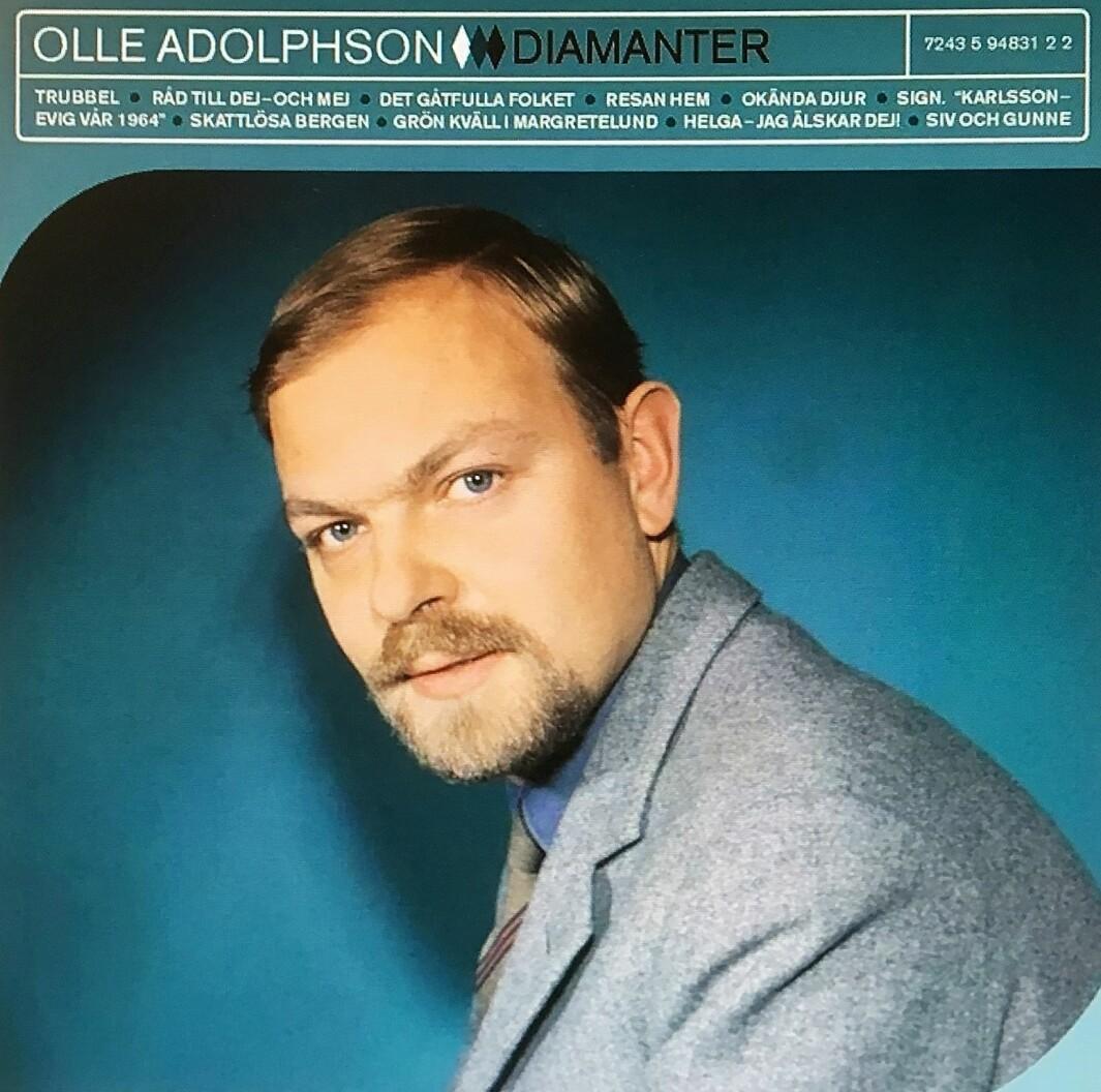 Artisten bak «En glad calypso om våren» og andre hits, Olle Adolphsson, stamma frå Settem.