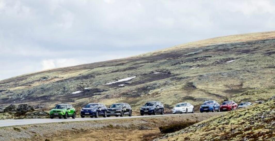 Stadig bedre rekkevidde gjør elbilene attraktive for flere.