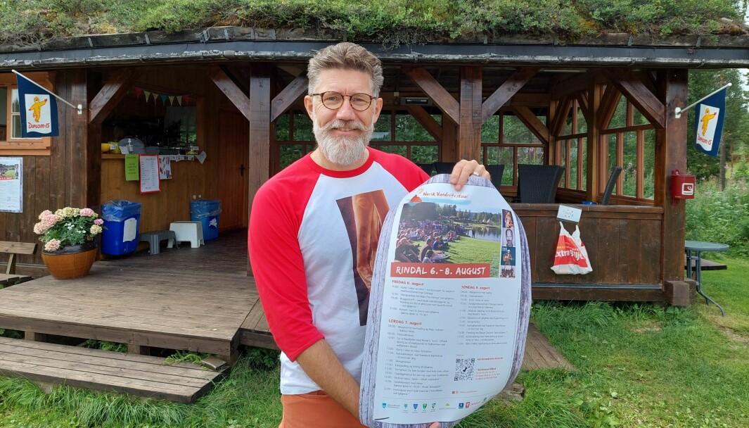 Daglig leder av Norsk Vandrefestival Tom Godtland.