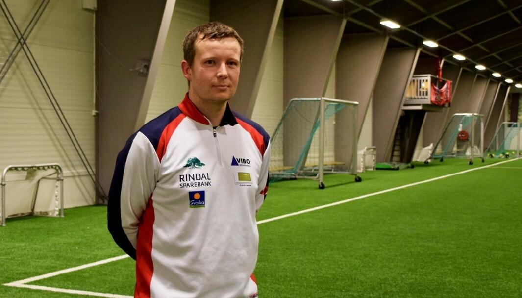 Rindal-trener Lars Ole Heggem.
