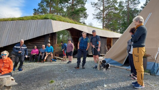 Lars Helgetun var med på turen til Raudfjellet som kjentmann.