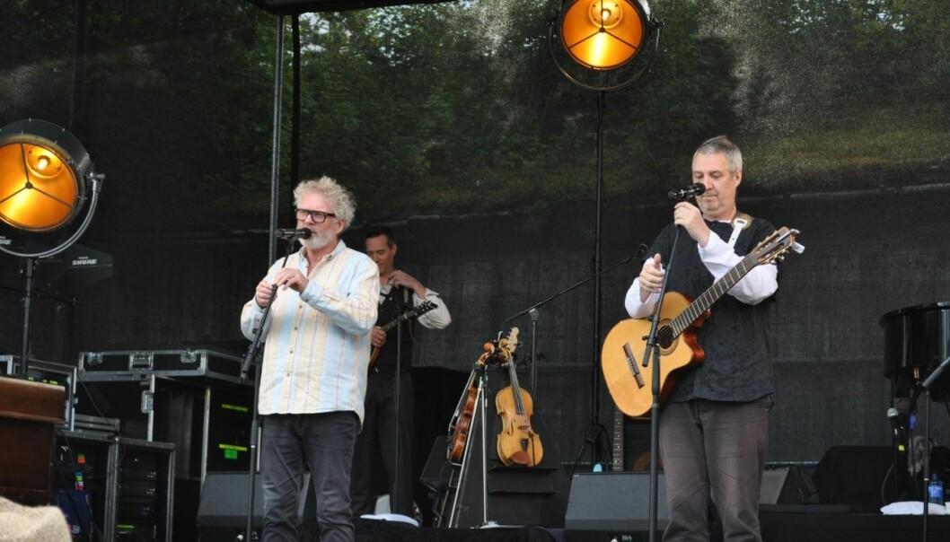 Øyvind Staveland og Jan Ingvar Toft