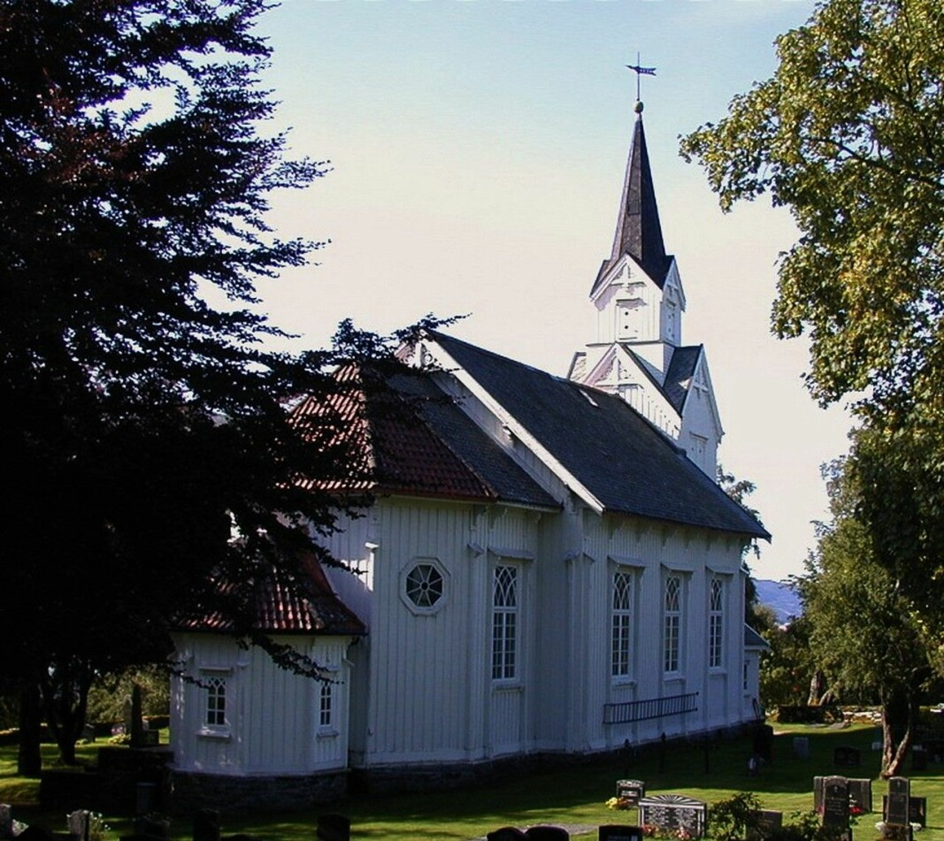 Øye kyrkje har 150-årsjubileum i år.