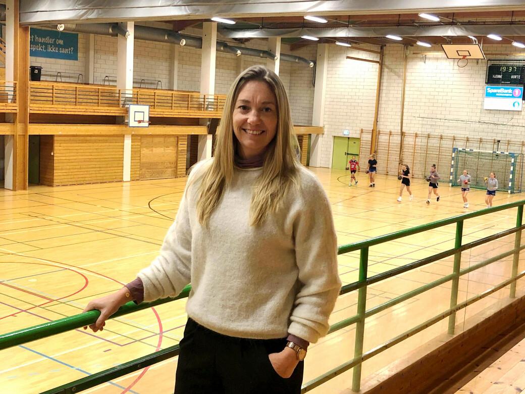Heidi Haltli, styreleder i Surnadal IL Håndball