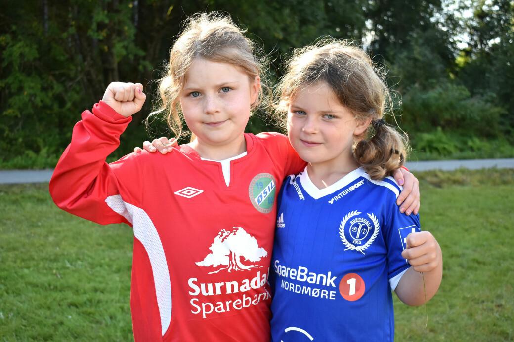 Anna Buvarp og Sigrid Stangvik er både gode venner og kusiner