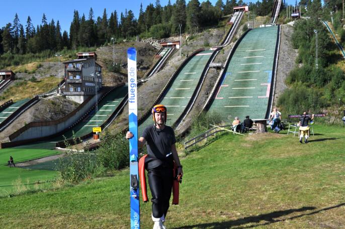 Karstein Mauset i Knyken skianlegg