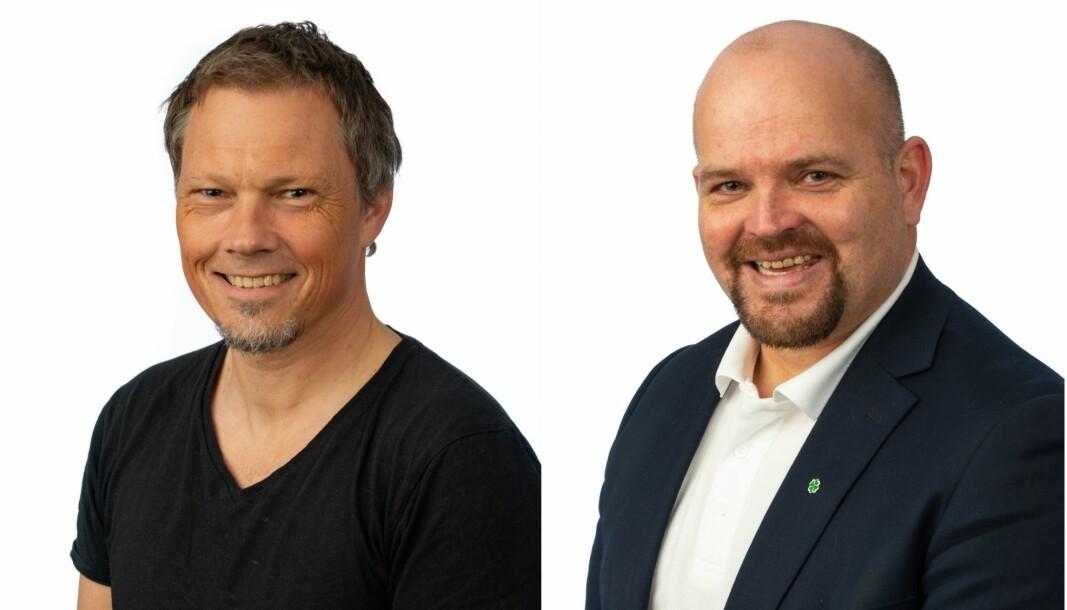 Per Ivar Lied og Geir Inge Lien.