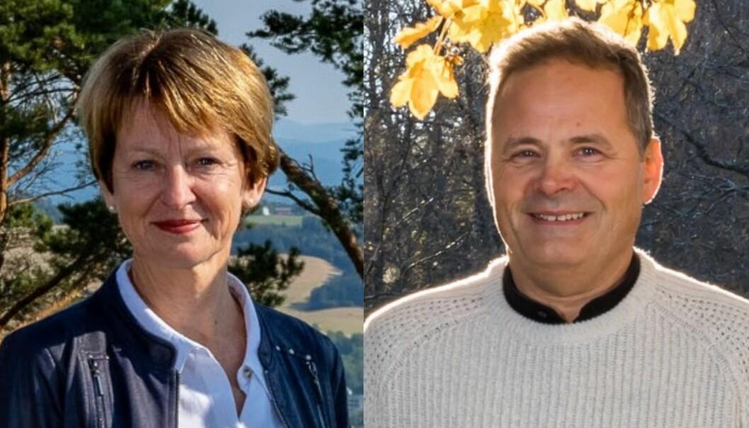 Kjersti Kinderås (Foto: Woodworks) og Ole Hartvig Bakke (Foto: Svein Erik Knoff).