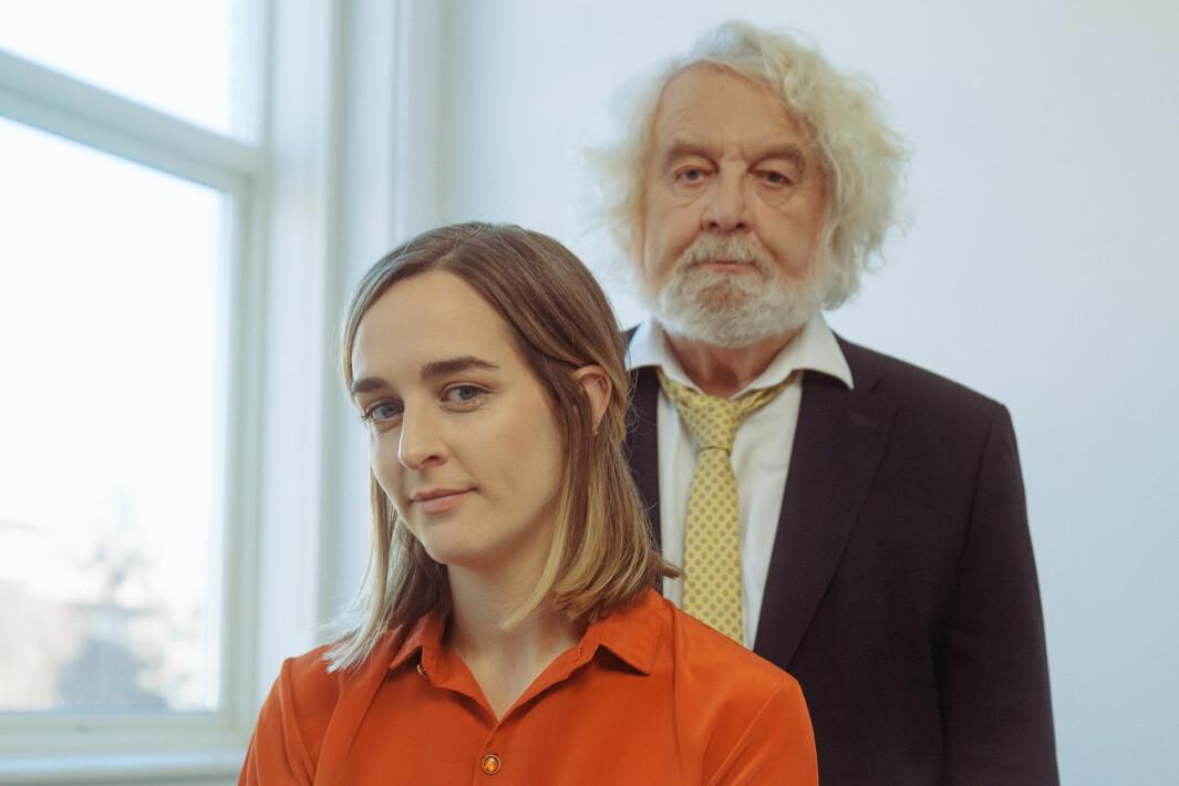 Ine og Edvard Hoem